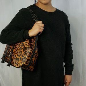 Dooney & Bourke Bags - 🆕️Dooney & Bourke Genuine Leather Leopard Print